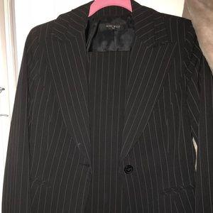 Nine West pinstriped suit